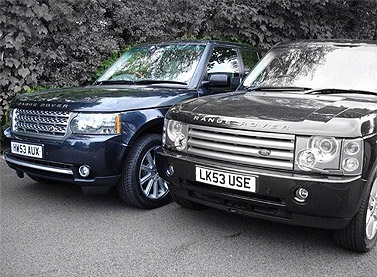 2010 Facelift Conversion For L322 Range Rover Vogue Dcc