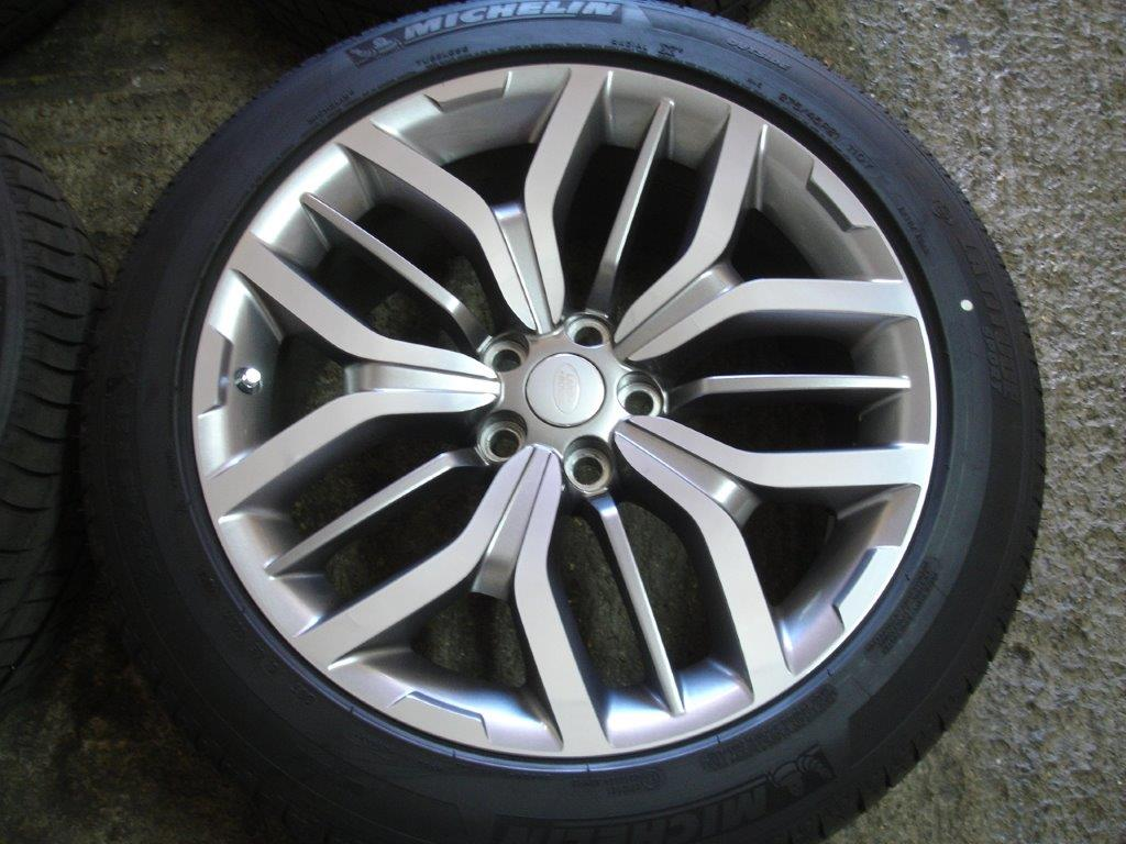 "Range Rover Autobiography >> 21"" Range Rover Sport SVR Alloy Wheels 