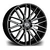 RV126 Riviera Alloy Wheels - Gloss Black Polished